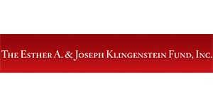 The Esther A. & Joseph Klingenstein Fund